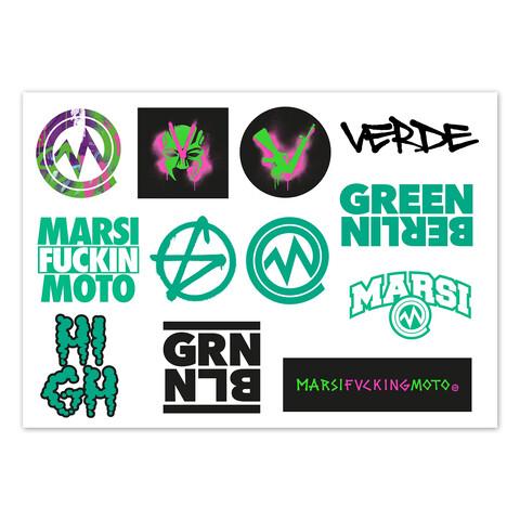 √Stickerset von Marsimoto - Sticker jetzt im Green Berlin Shop