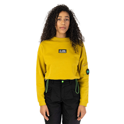 √MOVEMENT Cropped Sweater von Green Berlin -  jetzt im Green Berlin Shop