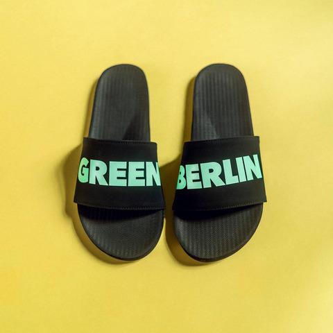 Green Berlinette by Green Berlin - beach slippers men - shop now at Green Berlin store