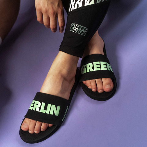Green Berlinette by Green Berlin - beach slippers woman - shop now at Green Berlin store
