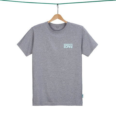 Green Nobodys Face Shirt (Limitiert) by Green Berlin -  - shop now at Green Berlin store
